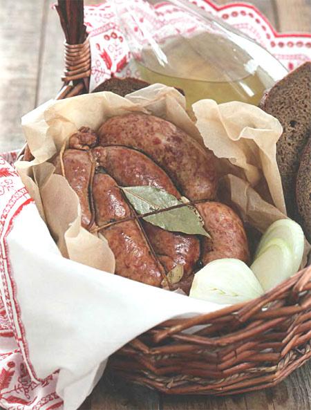 Свиные колбаски «Пряные»