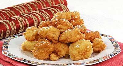 Ананасовые пончики
