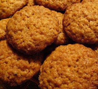 Анцакс - печенье из овсяных хлопьев
