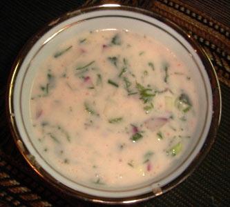 Чалоп - холодный узбекский суп