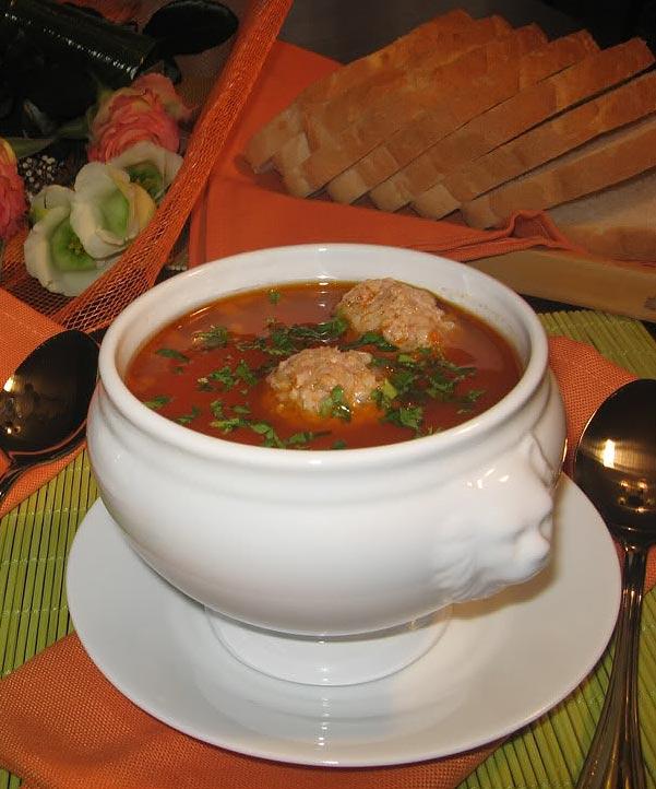Чорба - национальное румынское блюдо