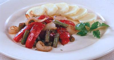Зеленая фасоль по-болгарски