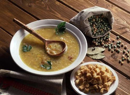 Гороховый суп по-монгольски
