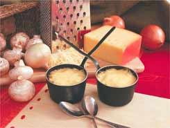 Грибной жульен с сыром