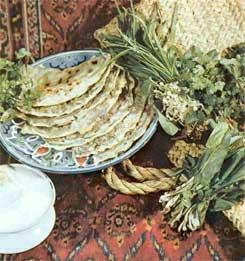 Гутаб - пирожки с луком