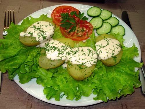 Хуанкаина папас — блюдо из картофеля по-перуански