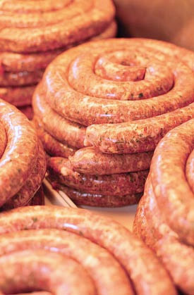 Норвежские жареные колбаски