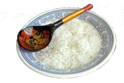 Каша рисовая рассыпчатая сладкая