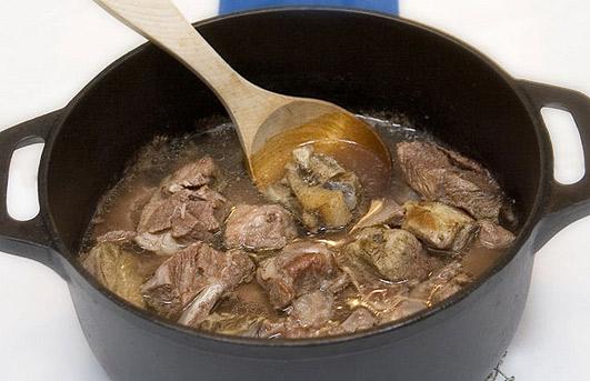 Карьяланпаисти - карельское мясное блюдо