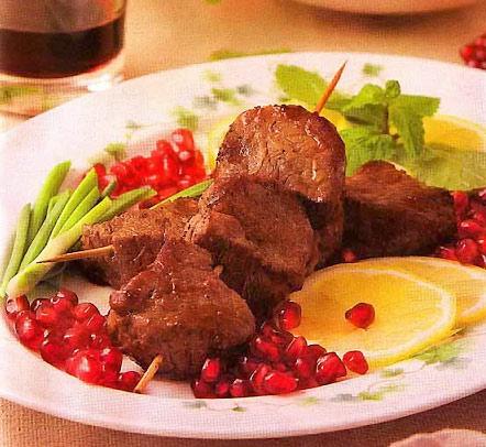 Кебаб — шашлык азербайджанский