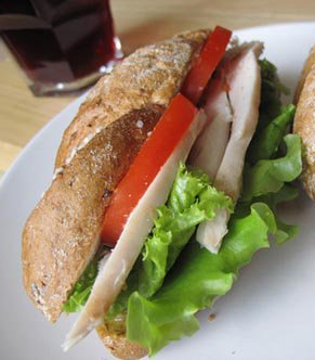 Куриный сандвич