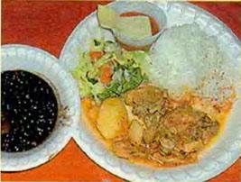 Курочка с рисом по-японски от Алены Апиной