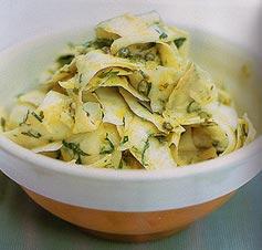 Салат из ленточек корневого сельдерея