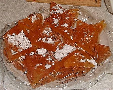 Мармелад абрикосовый мягкий