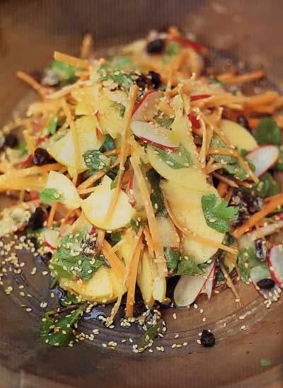 Мавританский салат хрустящий