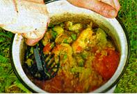 Овощной соус к шашлыку