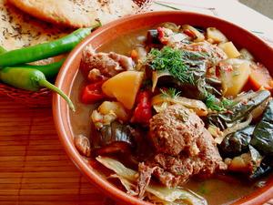 Овощное рагу с бараниной «Дары Привоза-2»