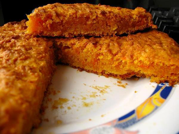 Пирог морковный № 1