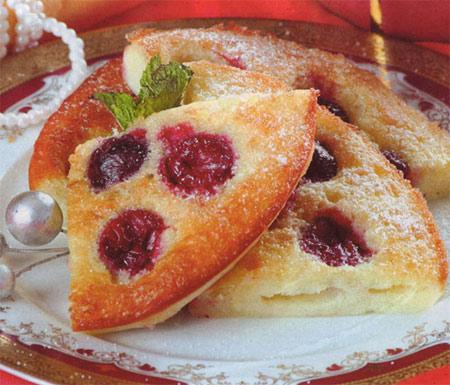 Пирог «Зимняя вишня»