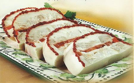 Рыба под майонезом с желе