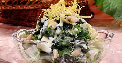 Салат из одуванчиков № 2