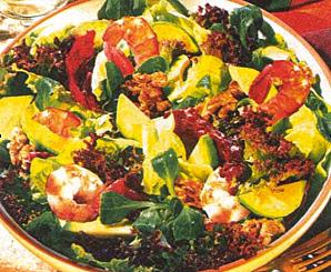 Салат с авокадо от Стаса Пьехи