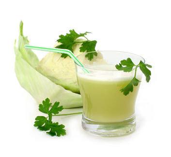 Сок из свежей капусты