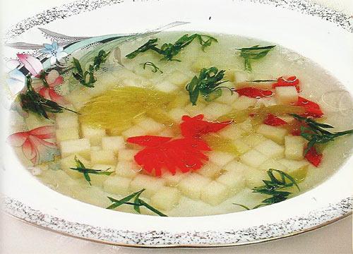 Суп со сладким (болгарским) перцем
