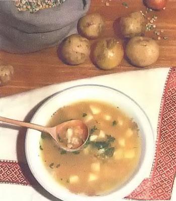 Суп гороховый с картофелем
