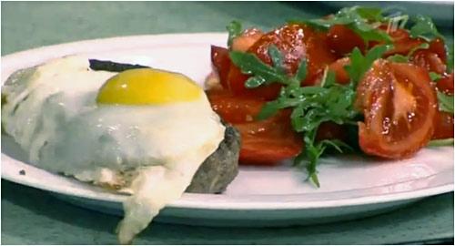 Бифштекс с яйцом от Игоря Крутого