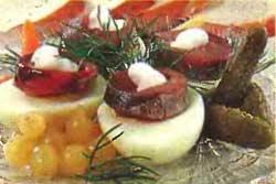 Фаршированные яйца по-польски от Барбары Брыльской