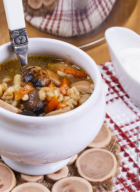 Грибной суп от Александра Розенбаума