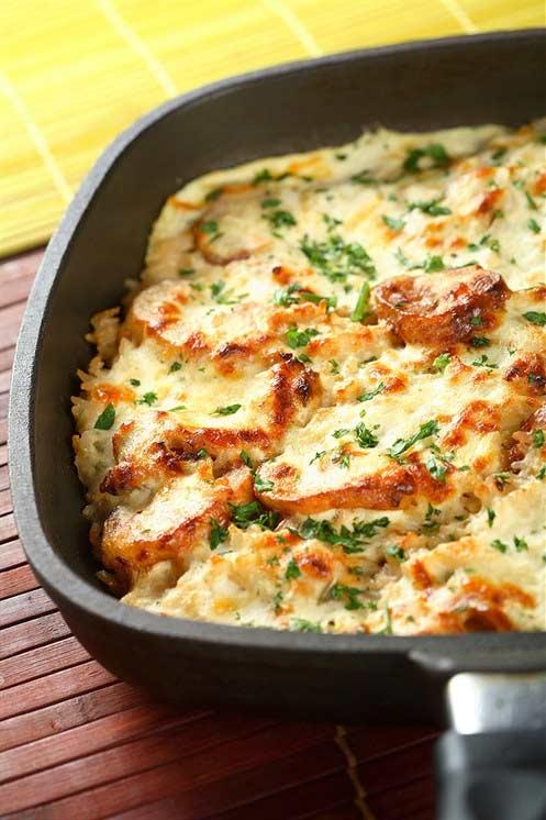 Картофельная запеканка с мясом от Александра Пореченкова