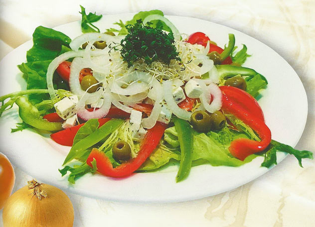 Салат греческий (рецепт #2)