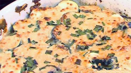 Соте из трески и овощей от А. Адабашьяна
