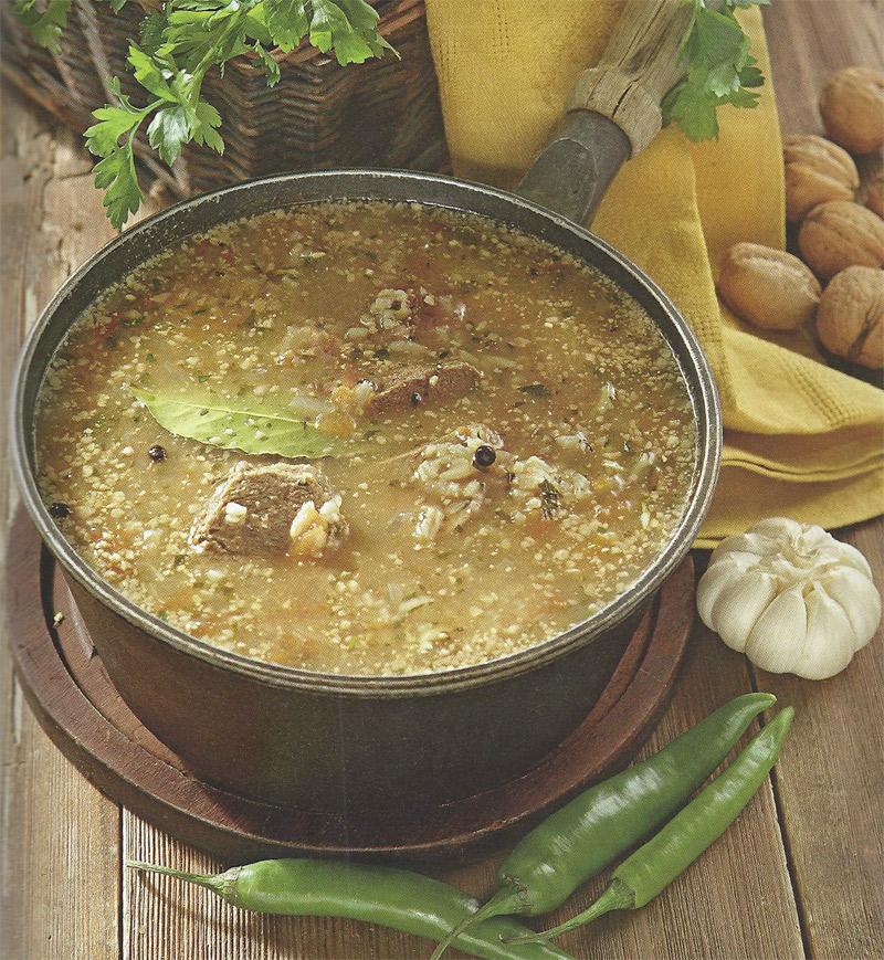 Суп-харчо по-мегрельски