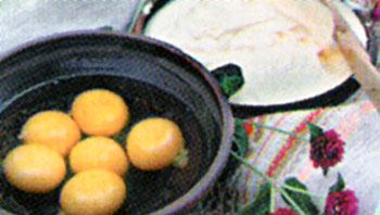 Сыр жареный от Русланы Писанки