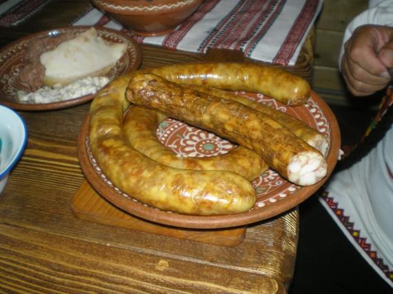 Колбаса гуцульская