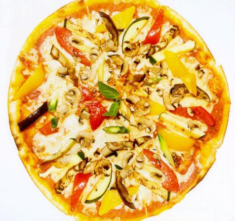 Рецепт домашней пиццы с шампиньонами и овощами