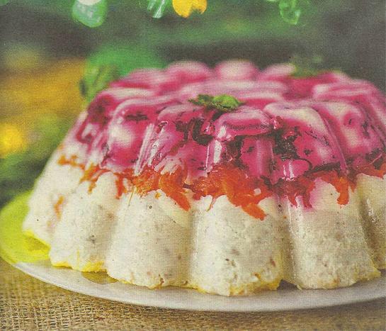 Рыбный салат «Многослойный»
