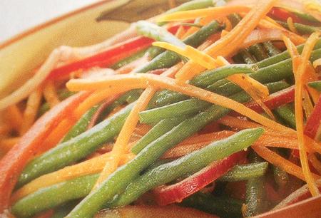 Салат із стручкової квасолі «Набої подавай»