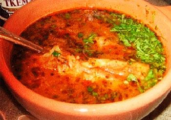 Суп харчо с куриной грудкой