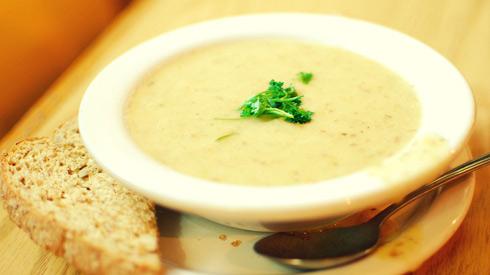 Венгерский чесночный крем-суп