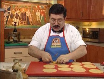 Печенье с орехами от Бориса Бурды