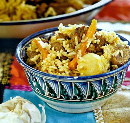 плов по узбекски на костре рецепт приготовления