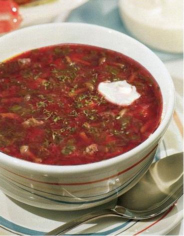 Сварить борщ без томатной пасты