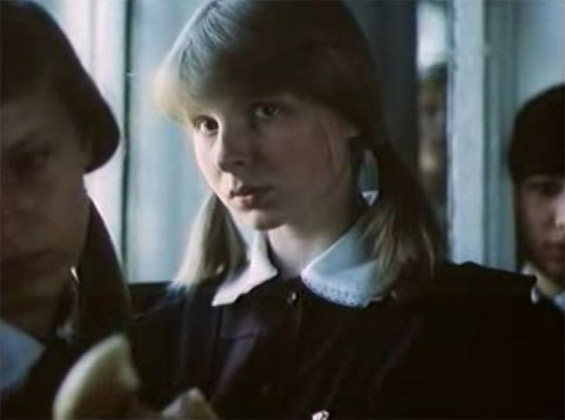 Татьяна Назарова в роли юной Натальи Кузнецовой