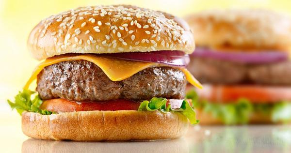 Гамбургер из свинины рецепт