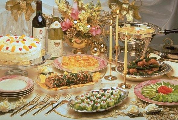 Юлюда новогоднего стола