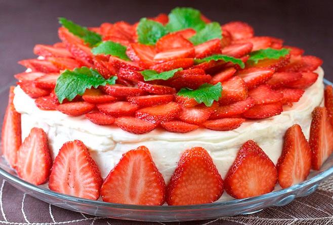 Вкусные украшения для торта